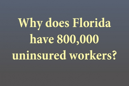Why Florida has 800,000 uninsured workers
