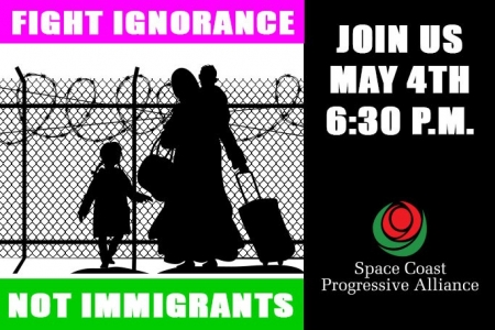"""Fight Ignorance – Not Immigrants!"""